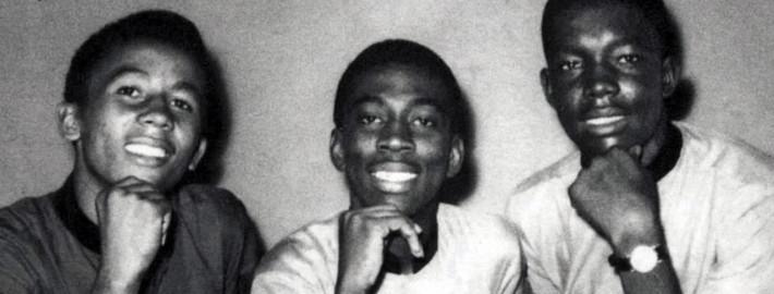 Da esquerda para a direita: Bob Marley, Bunny Wailer e Peter Tosh à época dos Wailing Wailers, em 1964.  |  foto reprodução internet