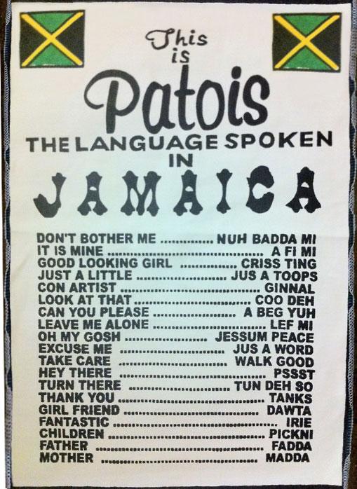 O patois é a primeira língua da maioria dos jamaicanos  |  foto: reprodução internet