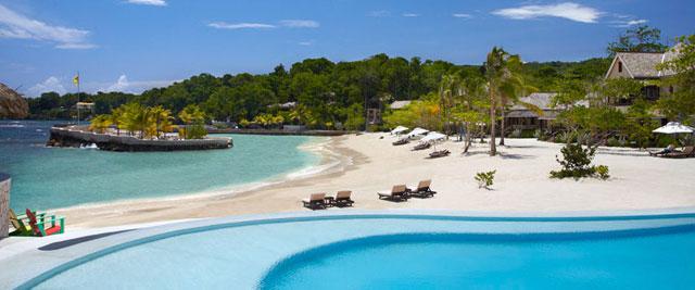 Hotel Goldeneye, em  Oracabessa Bay.  |  foto: divulgação