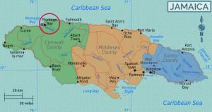 Montego Bay situa-se entre Negril e Ocho Rios, a noroeste de Kingston | foto: reprodução internet