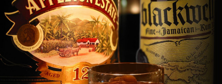 Appleton e o Blackwell, as marcas mais famosas de rum da Jamaica