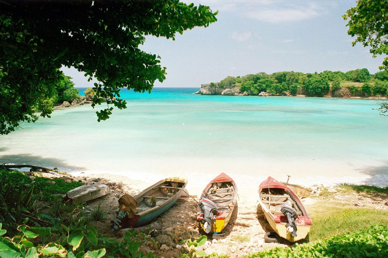 O clima na Jamaica é um convite aos passeios ao ar livre.  |  foto: reprodução internet