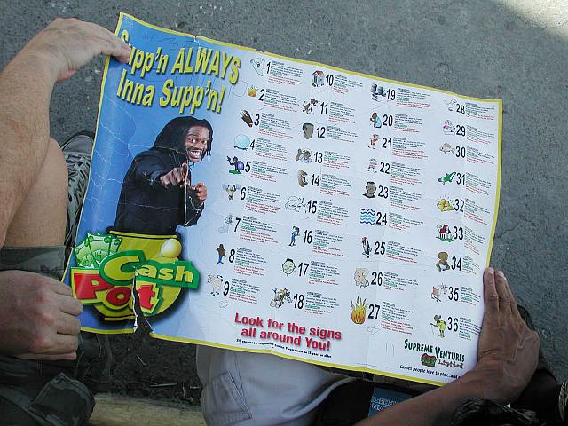 O popular jogo chinês Cash Pot é proibido na Jamaica  |  foto: reprodução internet