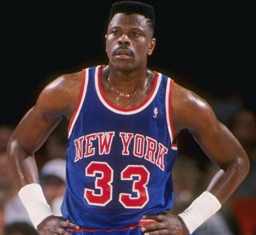 Patrick Ewing faz parte do Basketball Hall of Fame. | foto: reprodução internet
