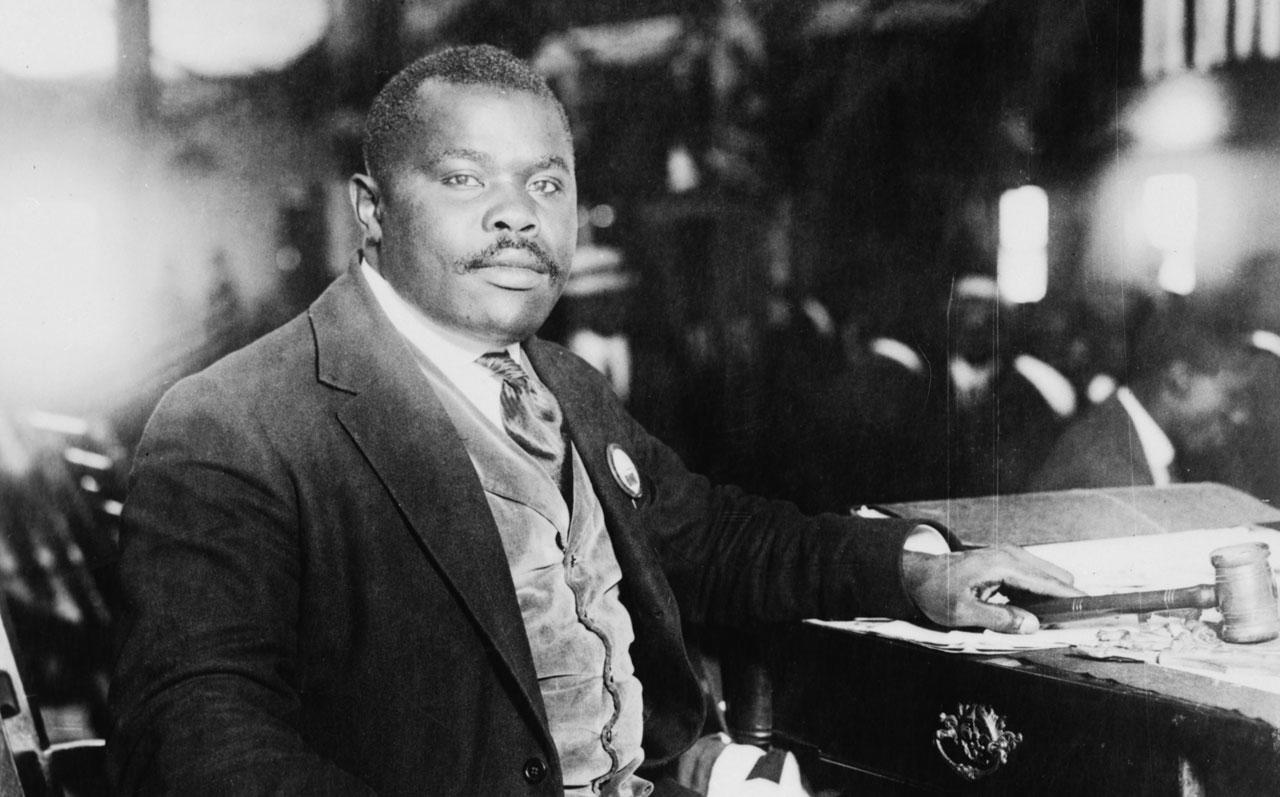 Marcus Garvey é considerado herói nacional e profeta do movimento rastafári na Jamaica.  |  foto: reprodução internet