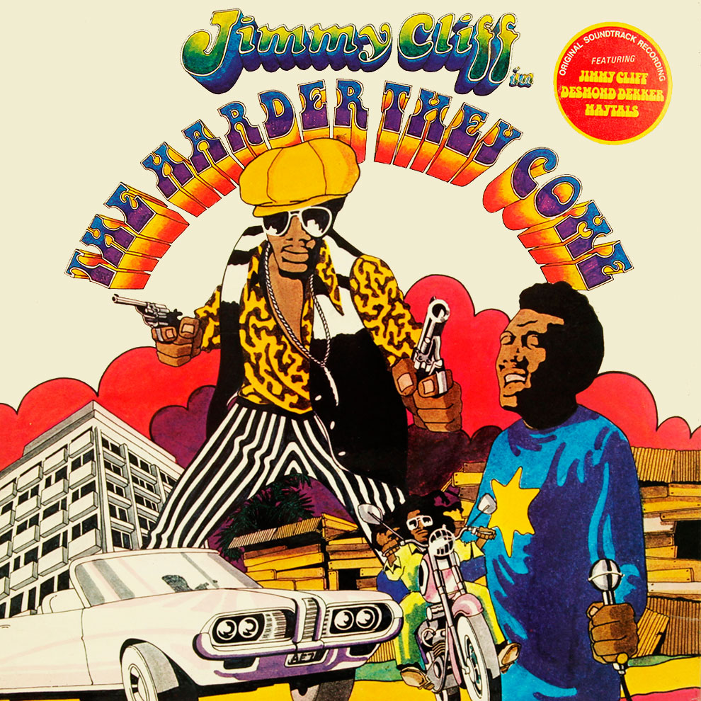 "Jimmy Cliff é o protagonista de ""The Harder They Come"" 