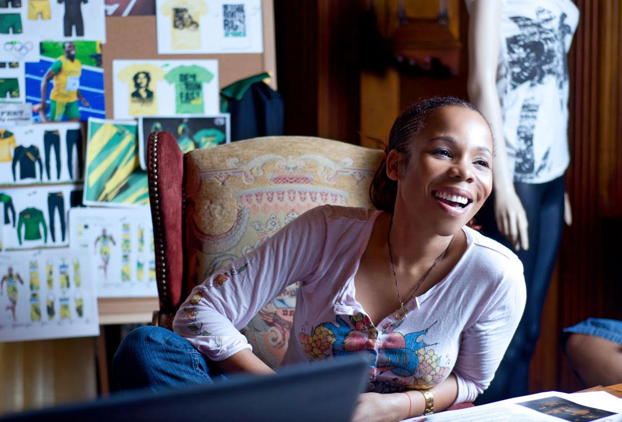 Cedella Marley: designer, escritora, administradora e cantora.  |  foto: reprodução internet