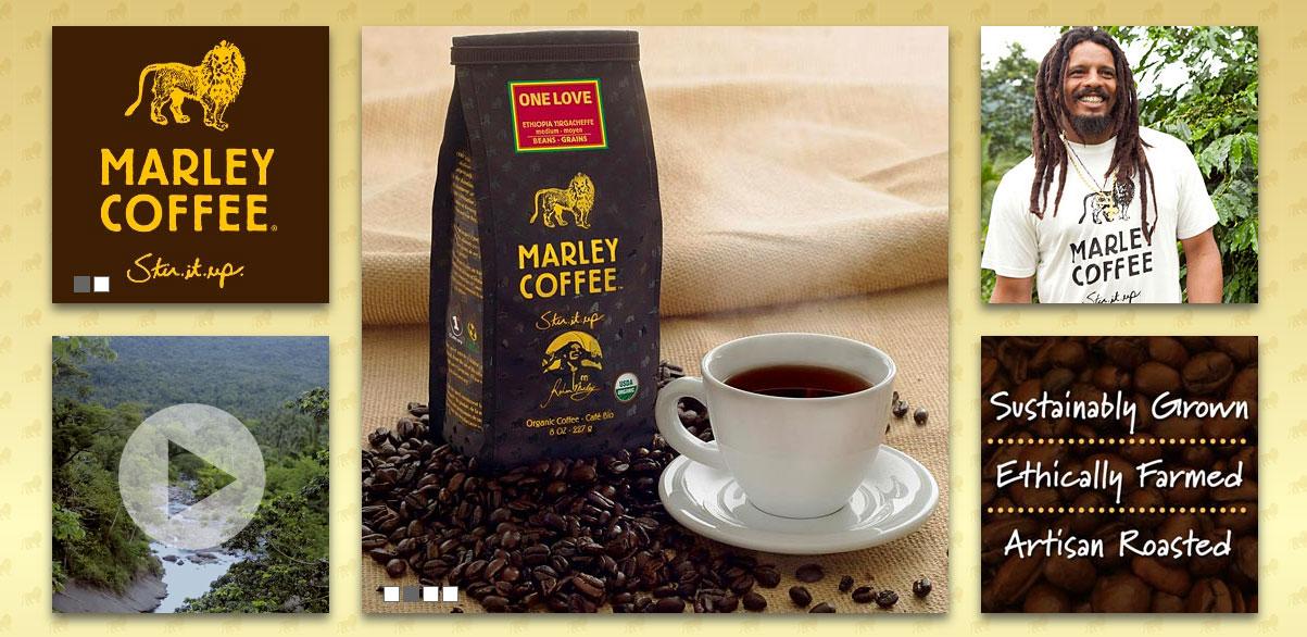 foto: reprodução website Marley Coffee