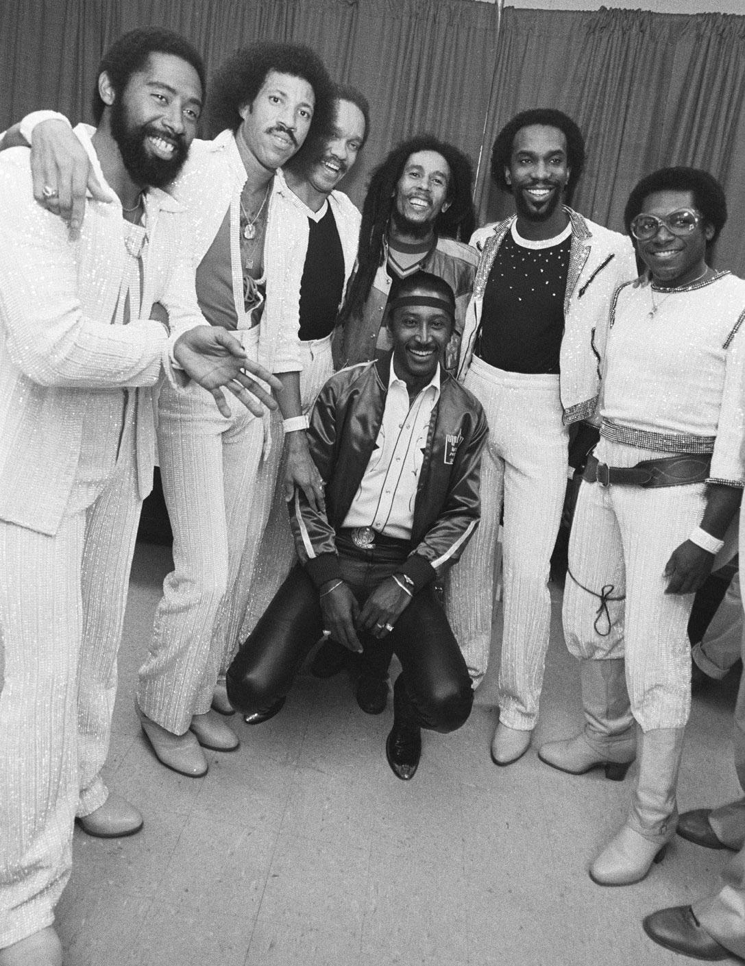 Bob Marley e The Commodores, mistura de soul e reggae para conquistar novos públicos.  |  foto: reprodução internet