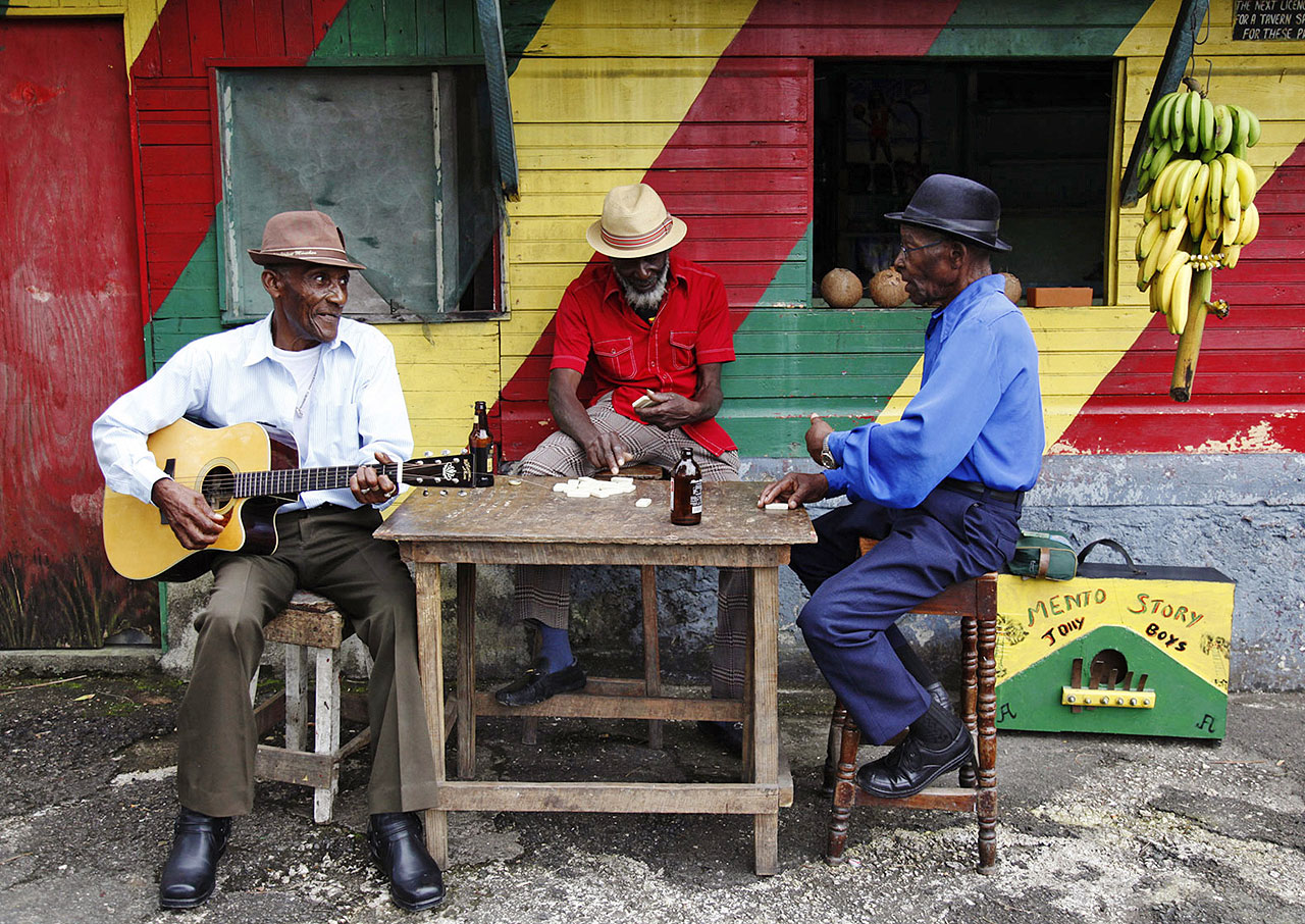 The Jolly Boys foi um dos primeiros grupos a mostrar a música jamaicana ao mundo.  |  foto: reprodução internet