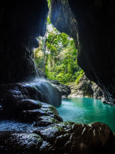 Os turistas ficam encantados com a rica natureza jamaicana |  foto: Kadu Pinheiro | Jamaica Experience