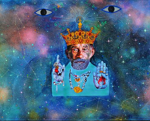 Pintura de Maria Rodsky | foto: divulgação LSP