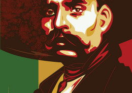 Emiliano Zapata | arte: Michael 'Freestylee' Thompson