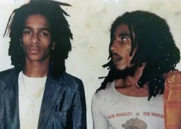 Don Letts ao lado de Bob Marley | foto: reprodução internet