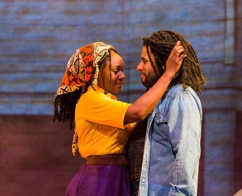 Rita Marley é interpretada por Saycon Sengbloh. | foto: divulgação | Richard Anderson