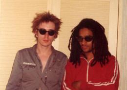 Johnny Rotten e Don Letts na Jamaica | foto: reprodução internet