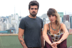 Leo Longo e Diana Boccara, idealizadores do projeto Around the World in 80 Music Videos.  |  foto: divulgação Around the World in 80 Music Videos | Maria G. Medeiros