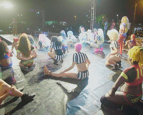 Bastidores do International Dancehall Queen Contest | foto: divulgação IDHQ