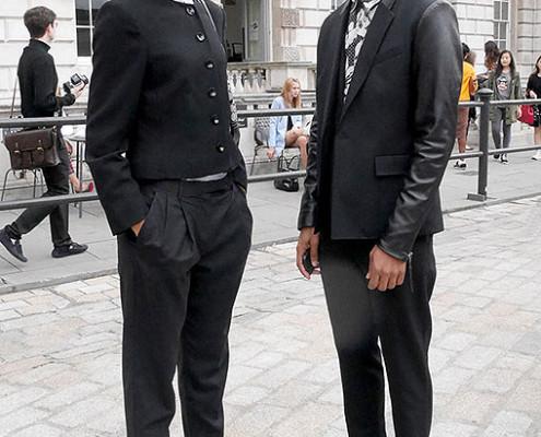 Casal londrino vestido ao estilo rude boy | foto: reprodução internet