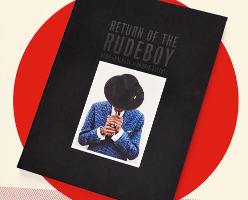 "O livro ""Return of the Rudeboy"", de Dean Chalkley e Harris Elliott | foto: reprodução internet"