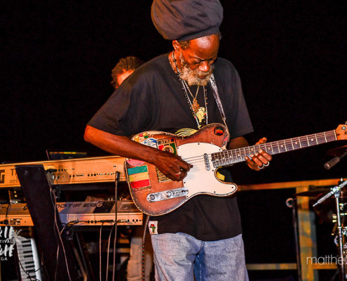 "Earl ""Chinna"" Smith, guitarrista do The Wailers 