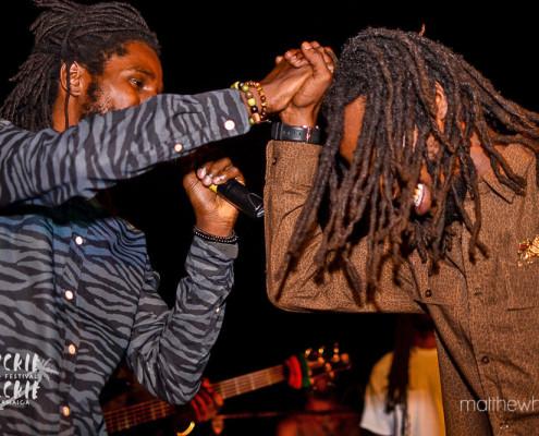 Chronixx e Jesse Royal | Wickie Wackie Music Festival | foto: divulgação WWMF | Matthew Henry