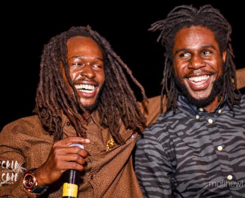 Jesse Royal e Chronixx | Wickie Wackie Music Festival | foto: divulgação WWMF | Matthew Henry