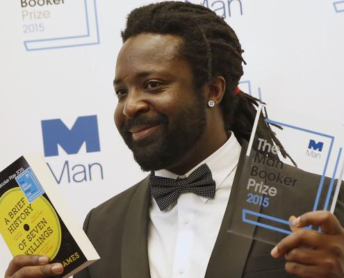 O romancista Marlon James, ganhador do Man Booker Prize 2015. | foto: reprodução internet