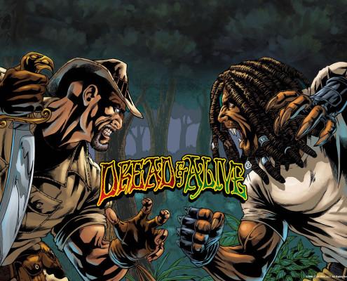 A série de quadrinhos Dread & Alive, do brasileiro Nicholas da Silva